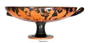 Red Figure Kylix - by Euxitheos as potter and Oltos as painterPhoto: Direzione Generale per i Beni Archaeologici, Ministero per i Beni e le Attività Culturali