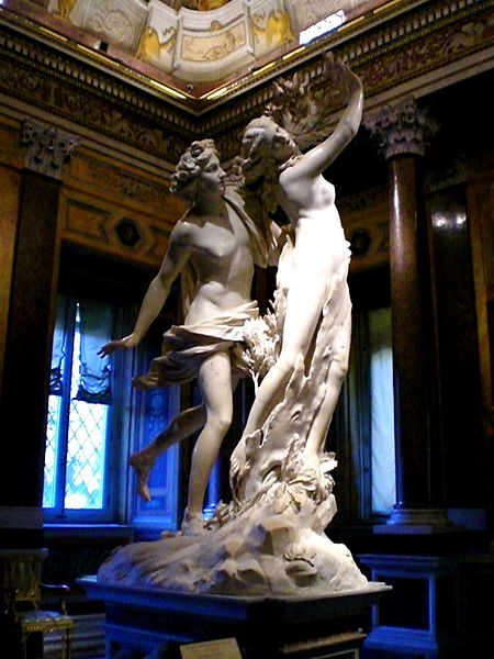 Apollo and Daphne Source:  Wikimedia Commons