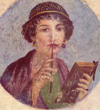 Pompeii writer