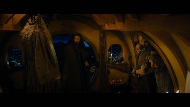 Thorin Arrives in Bag End Screen Cap from Gallika.com via The Heirs of Durin