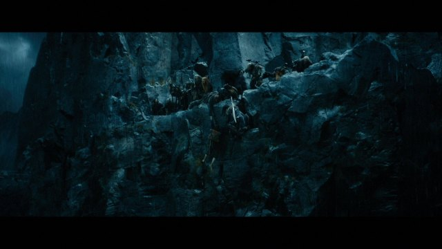 Thorin to the rescue... Screen cap from Gallika.com via The Heirs of Durin
