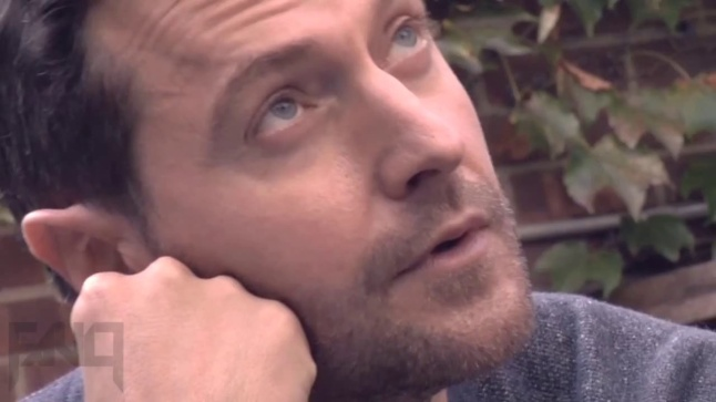 Richard Armitage at work...looking up a bit askance. Fault Magazine 2012 Source:  richardarmitagenet.com