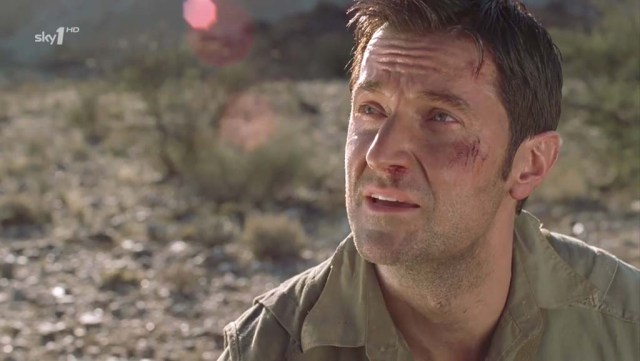 John Porter (Richard Armitage) fights for the will to go on... (Strike Back S1.6) Source:  www.richardarmitagenet.com Source