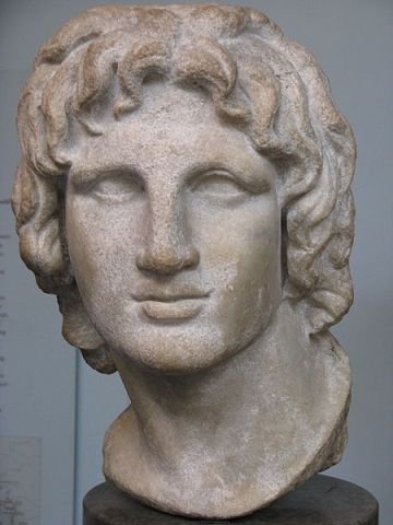 Portrait Bust of Alexander - British Museum Source:  Wikimedia Commons