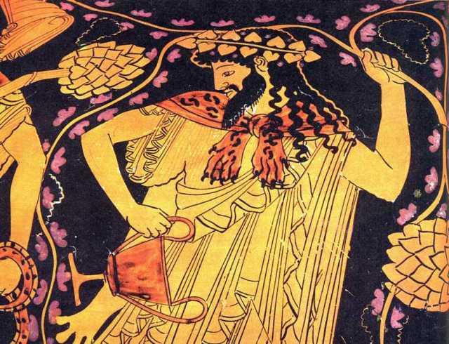 Dionysus by Kleophrades Painter Source?  pantherfile.uwm.edu