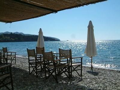 greece beach taverna