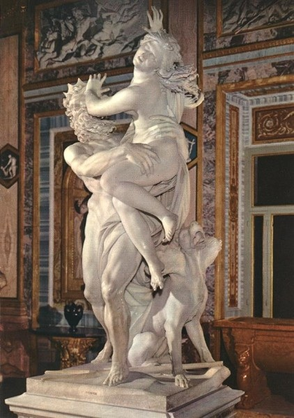 Abduction of Proserpina (Persephone) by Bernini