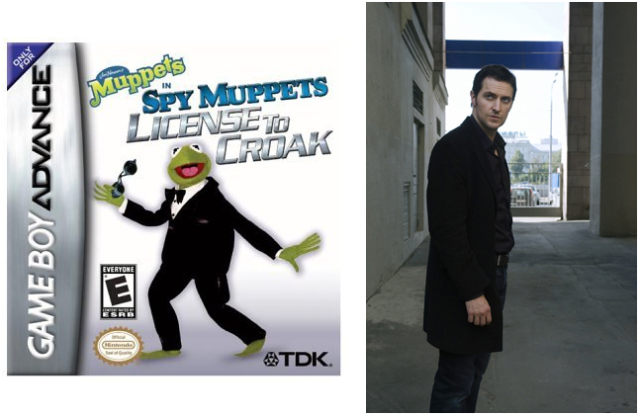 Spy Games - Lucas and Kermit..International ?? of Mystery