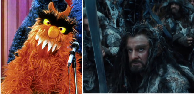 Thorin and Frazzle teach us that even scary looking things have a soft side.