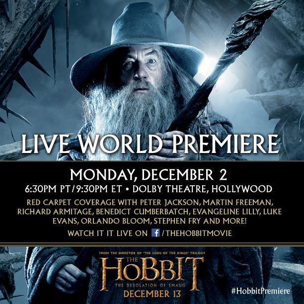 hobbit live stream
