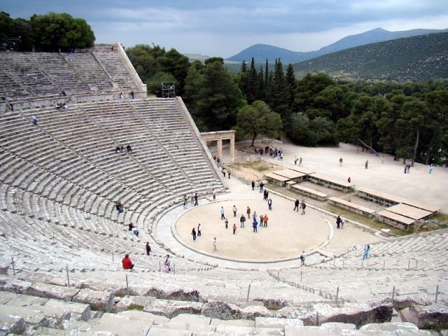 Theater of Epidauros -Greece
