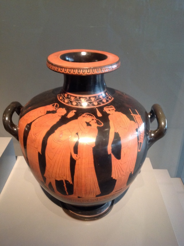 Attic Red Figure Hydria attributed to the Leningrad Painter - mid 5th century BC