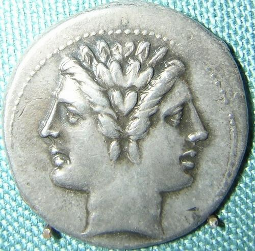 Janus coin from early Republican Rome Source
