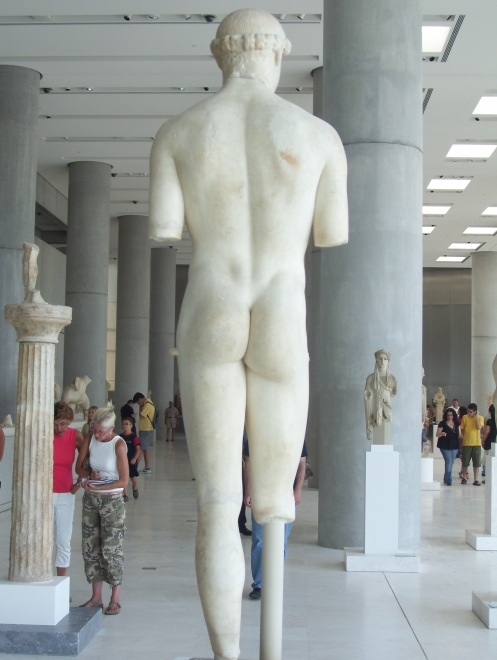 Kritias Boy Rear View Acropolis Museum Athens My Shot..(yep, I stood there and waited until people cleared out of my immediate frame so as not to distract...I'm patient that way!)