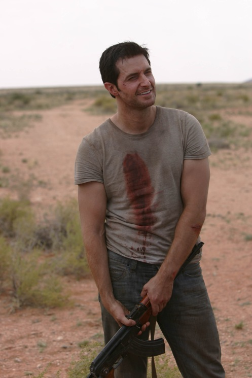 John Porter (Richard Armitage) Strikeback Behind the Scenes Source