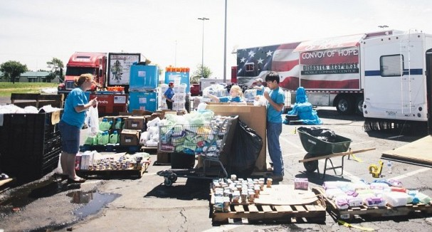 Convoy of Hope responds in Moore, Oklahoma 2013 Source