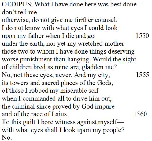 Translation by David Grene