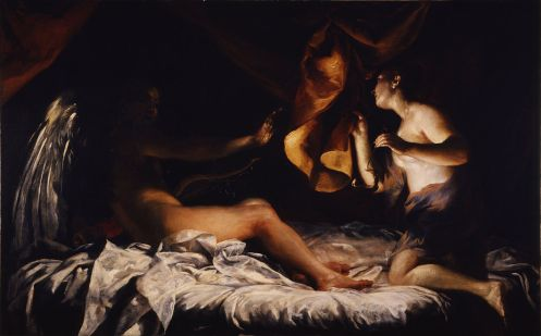 Cupid and Psyche by Giuseppe Maria Crespi Source