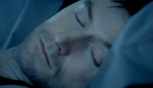 Lucas North sleeps... Spooks 8.5 Source