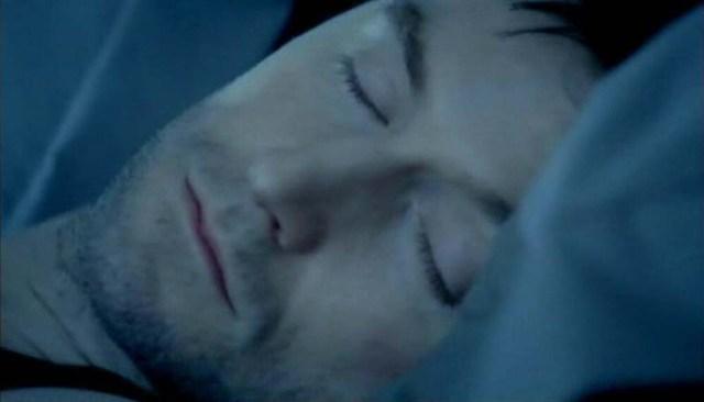 Lucas North sleeps... Spooks 8.5 Source