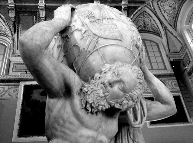 Farnese Atlas - Face Source