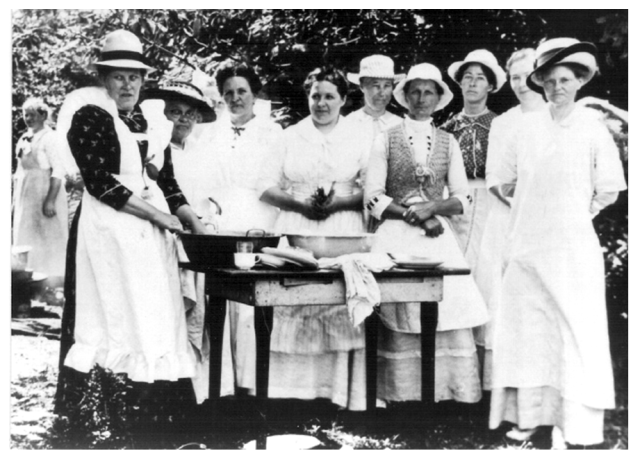 Lutheran Ladies Aid Society ca 1912