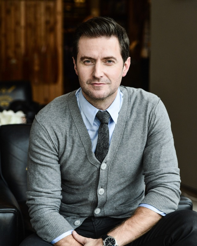 Mr. Rogers a la Richard Armitage Photo by George Pimentel