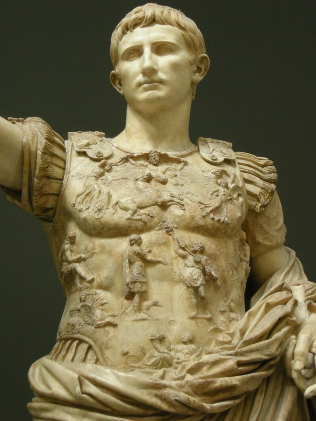 Prima Porta Augustus Vatican Museum