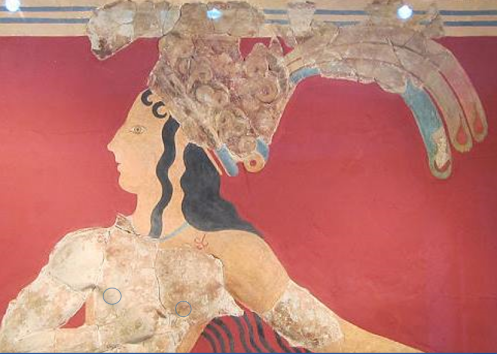 """""""Prince of the Lilies"""" Archaeological Museum of Iraklion"""