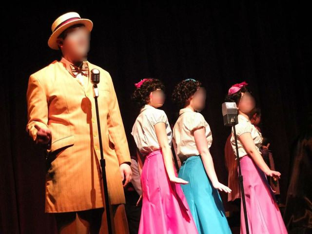 """You're Never Fully Dressed Without a Smile""  or your goldenrod zoot suit and Boylan Sisters backup."