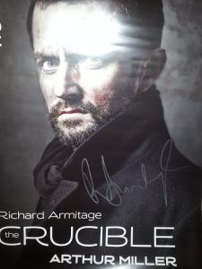 This one, in fact. Forgive the glare but check how legible the sig is!