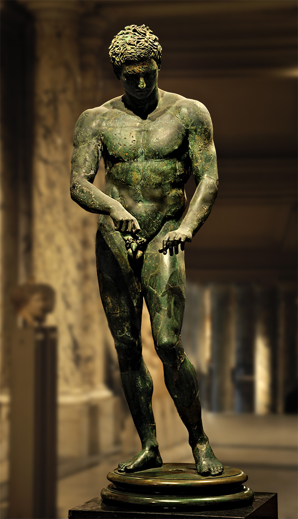 The Vienna or Ephesos Apoxyomenos (scraper) Source