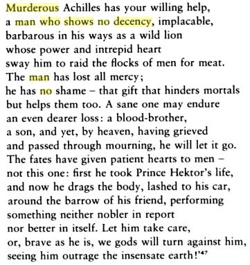 Iliad XXIV.30ff