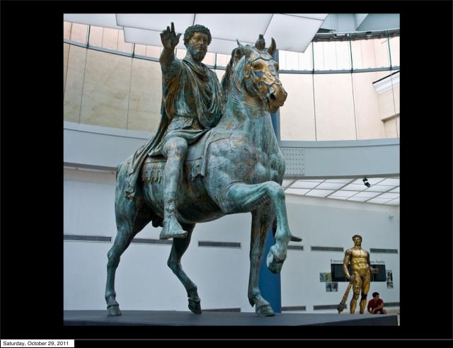 Marcus Aurelius Ahorse Capitoline Museum - Rome