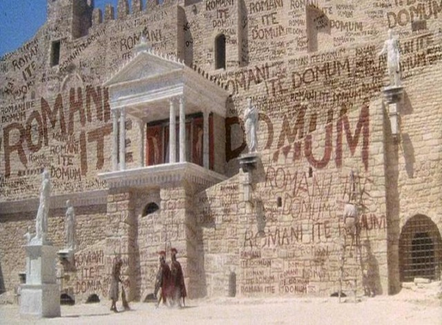 """Romans go home"" scene from Monty Python's Life of Brian"