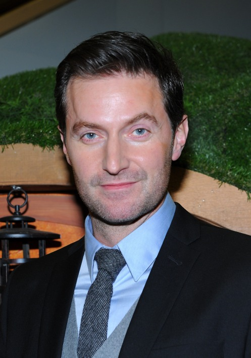 """TORONTO, ON - DECEMBER 03:  Richard Armitage visits Union Station to promote """"The Hobbit: An Unexpected Journey"""" on December 3, 2012 in Toronto, Ontario.  (Photo by George Pimentel/WireImage)"""